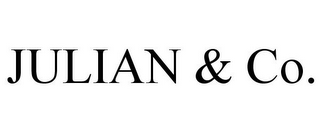 mark for JULIAN & CO., trademark #77220865