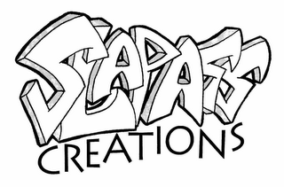 mark for SLAPASS CREATIONS, trademark #77220976