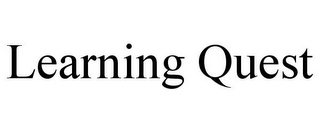 mark for LEARNING QUEST, trademark #77222643