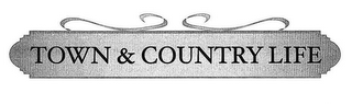mark for TOWN & COUNTRY LIFE, trademark #77224474
