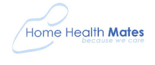mark for HOME HEALTH MATES BECAUSE WE CARE, trademark #77224475
