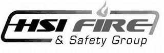 mark for HSI FIRE & SAFETY GROUP, trademark #77225614