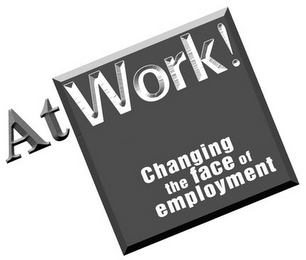 mark for ATWORK! CHANGING THE FACE OF EMPLOYMENT, trademark #77225896