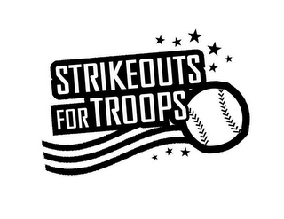 mark for STRIKEOUTSFORTROOPS, trademark #77226302