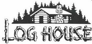 mark for LOG HOUSE, trademark #77227010