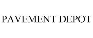 mark for PAVEMENT DEPOT, trademark #77227914