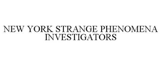mark for NEW YORK STRANGE PHENOMENA INVESTIGATORS, trademark #77229290