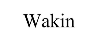 mark for WAKIN, trademark #77229759