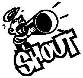 mark for SHOUT, trademark #77233071