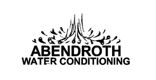 mark for ABENDROTH WATER CONDITIONING, trademark #77234586