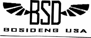 mark for BSD BOSIDENG USA, trademark #77237350