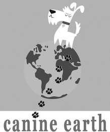 mark for CANINE EARTH, trademark #77237561