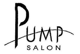 mark for PUMP SALON, trademark #77238242
