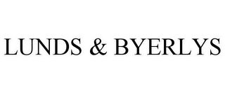 mark for LUNDS & BYERLYS, trademark #77238695