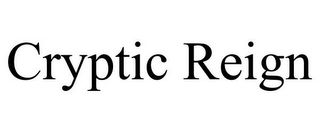 mark for CRYPTIC REIGN, trademark #77240449