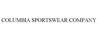 mark for COLUMBIA SPORTSWEAR COMPANY, trademark #77240631