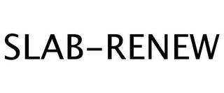 mark for SLAB-RENEW, trademark #77241457