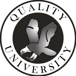 mark for QUALITY UNIVERSITY, trademark #77241682
