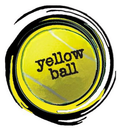 mark for YELLOW BALL, trademark #77243046