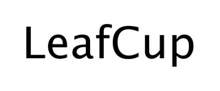 mark for LEAFCUP, trademark #77244493