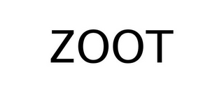 mark for ZOOT, trademark #77244533