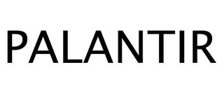 mark for PALANTIR, trademark #77244586