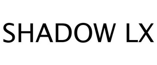 mark for SHADOW LX, trademark #77246017