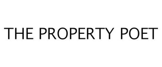 mark for THE PROPERTY POET, trademark #77250893