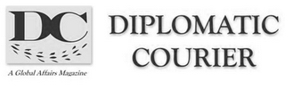 mark for DC DIPLOMATIC COURIER A GLOBAL AFFAIRS MAGAZINE, trademark #77254101