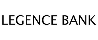 mark for LEGENCE BANK, trademark #77254424