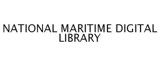 mark for NATIONAL MARITIME DIGITAL LIBRARY, trademark #77255031