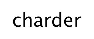 mark for CHARDER, trademark #77255368
