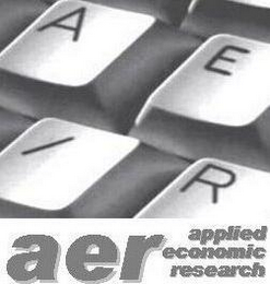 mark for AER APPLIED ECONOMIC RESEARCH, trademark #77255562
