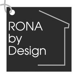 mark for RONA BY DESIGN, trademark #77255878