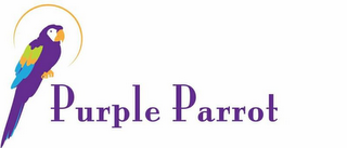 mark for PURPLE PARROT, trademark #77256007