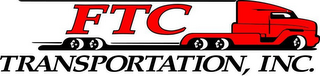 mark for FTC TRANSPORTATION, INC., trademark #77256658