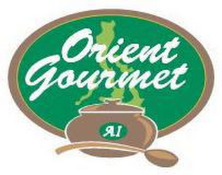 mark for ORIENT GOURMET AI, trademark #77257512