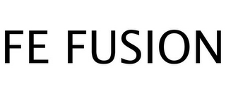 mark for FE FUSION, trademark #77257916