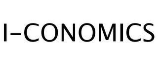 mark for I-CONOMICS, trademark #77259702