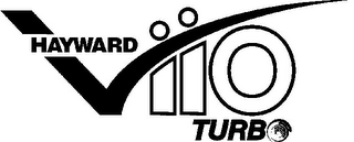 mark for HAYWARD VIIO TURBO, trademark #77260856