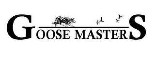 mark for GOOSE MASTERS, trademark #77261729