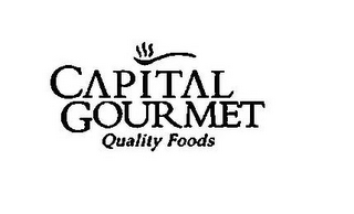 mark for CAPITAL GOURMET QUALITY FOODS, trademark #77263197
