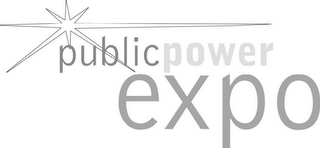 mark for PUBLICPOWER EXPO, trademark #77266135