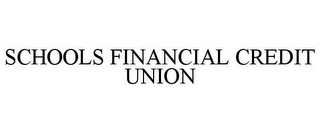 mark for SCHOOLS FINANCIAL CREDIT UNION, trademark #77266633