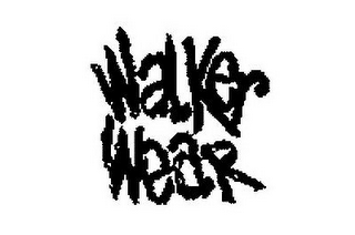 mark for WALKER WEAR, trademark #77271445