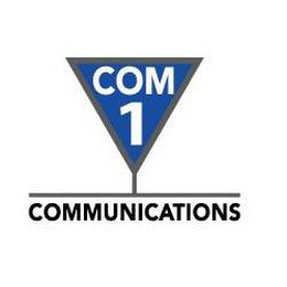 mark for COM1 COMMUNICATIONS, trademark #77271911