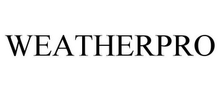mark for WEATHERPRO, trademark #77272081