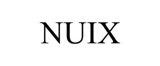 mark for NUIX, trademark #77272827