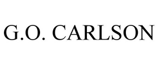 mark for G.O. CARLSON, trademark #77273046