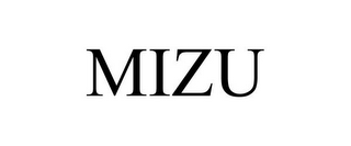 mark for MIZU, trademark #77273242